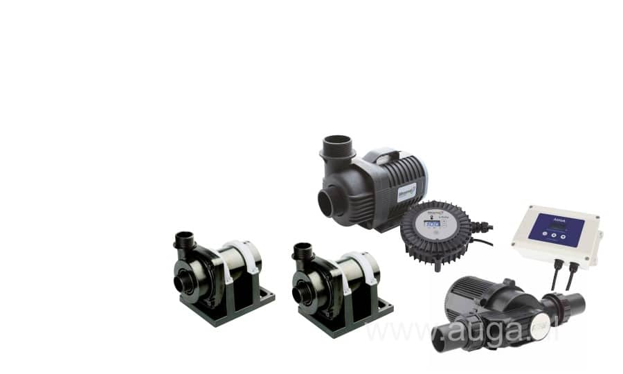 Pond pumps dry position