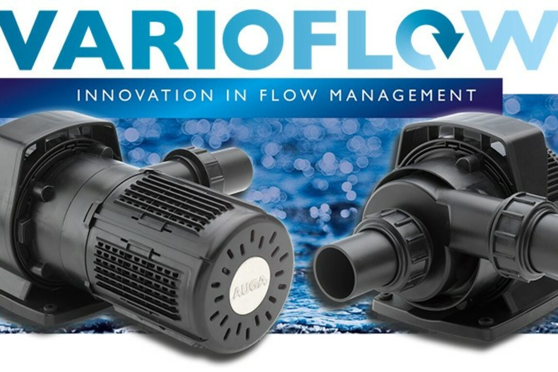 AUGA introduces its most energy-efficient pond pumps